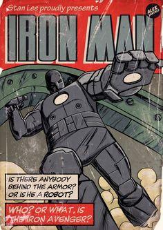 Classic Comic Book Covers - Alex Santalo