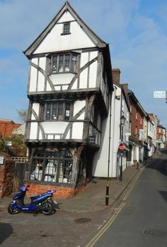 'The House That Moved', Exeter, Devon, England, UK
