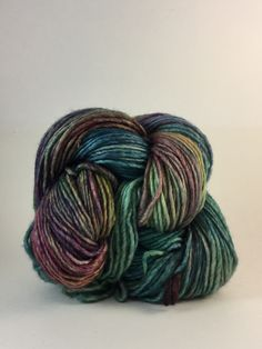 Silky Merino from Malabrigo is one of those yarns that you'll come back to again and again. It's a gorgeous hand dyed blend of 51% silk and 49% Merino wool. Each 50 gram skein has 150 yards. Silky Mer