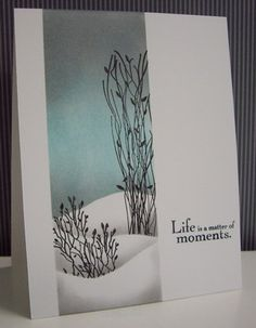 Delicate Branches by Loll Thompson - Cards and Paper Crafts at Splitcoaststampers