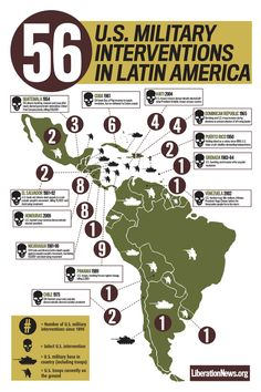 Maybe this is why they leave Latin America completely off our high school history books