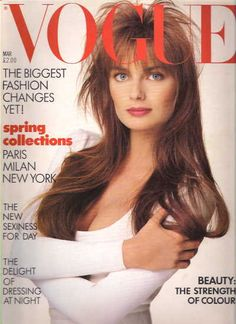 Paulina  -  Vogue March 1987
