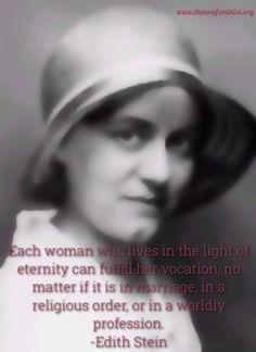 #EdithStein #femininegenius #catholic