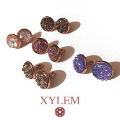 Xylem Rose Gold Collection by Oeuvres on Etsy
