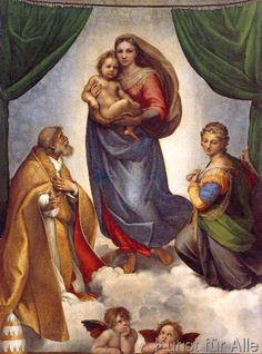 Raffael - Die Sixtinische Madonna