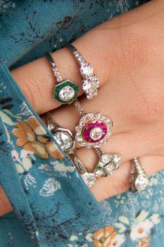 I love vintage jewelry