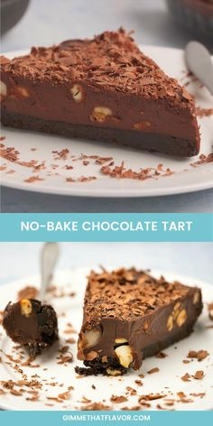 This delicious no-bake chocolate tart is made with an oreo cookie crust and a rich chocolate ganache filling. Easy Baking Recipes, Snack Recipes, Indian Dessert Recipes, Healthy Indian Recipes, Chocolate Desserts, Chocolate Mouse Cake, Chocolate Biscuit Cake, Chocolate Ganache Tart, Chocolate Cheesecake Recipes