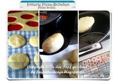 farfalla-in-den-Topf-geschaut: In den Topf geschaut * frittierte Pizza-Brötchen.....