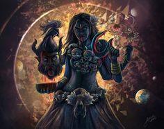 Hey There, I'm a digital artist working freelance as graphic designer and artist. Mother Kali, Mother Goddess, Saraswati Goddess, Goddess Art, Ganesha Art, Krishna Art, Maa Kali Images, Indian Goddess Kali, Lord Rama Images