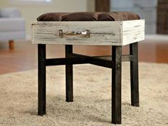 One of a kind stool from Recyclebank