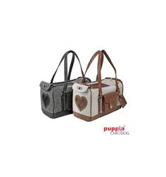 Grand Carrier by Puppia - black and brown items #Chic4Dog