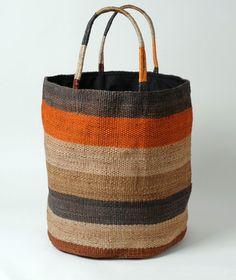 Maison Bengal Hand Woven Jute Shopping Bag BSK-J20