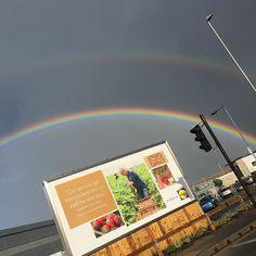 Double rainbow  #rainbow #doublerainbow #britishsummer