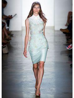 Peter Som - So feminine..love! #NYFW
