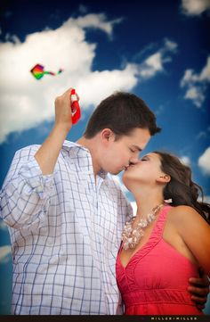engagement session with a kite - Google Search
