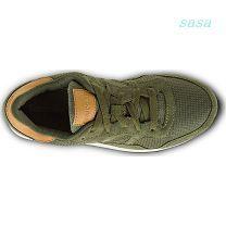 Women Shoes - Saucony / Olive Saucony DXN Trainer Originals Shoes, VQ98+166rw