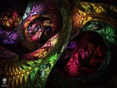 phsycadelic paintings | Psychedelic Circus by psion005