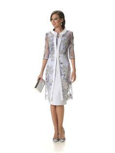 Bi Victor J Granados – Herrenmode Coat Dress, The Dress, Dress Brokat, Mother Of Bride Outfits, Estilo Real, Semi Formal Dresses, Groom Dress, Royal Fashion, Feminine Style