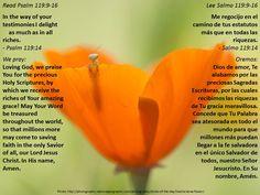 Store up the Word + Guárdela a la Palabra  https://www.biblegateway.com/passage/?search=Psalm+119%3A9-16&version=ESV%3BNVI%3BMSG%3BNCV%3BNLT