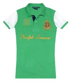 RALPH LAUREN Women's Sport Logo Polo T-Shirt $57.51 (28% OFF)