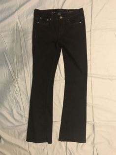 f876ccba350 Calvin Klein Womens Black Denim Ultimate Boot Cut Size 27 4  fashion   clothing