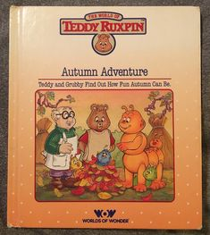 A personal favorite from my Etsy shop https://www.etsy.com/listing/586114088/teddy-ruxpins-autumn-adventure-80s