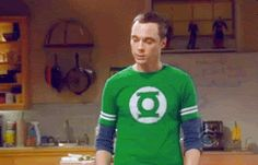 Sheldon Cooper from Big Bang theory| lol I wonder if this is what it looked like when I fainted in church yesterday