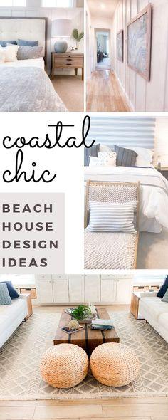 Chic Beach House, Beach House Tour, Beach House Bedroom, Beach Cottage Style, Beach House Decor, Living Room Bedroom, Home Decor Bedroom, Room Decor, Home Decor Inspiration