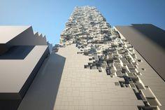 3d elementen in de architectuur