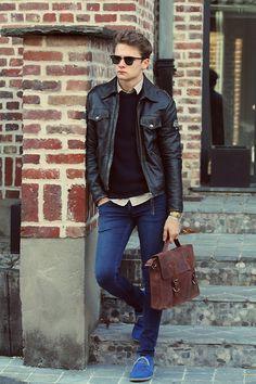 Rocker Fashion Men On Pinterest Punk Rock Style Leather Men And Men 39 S Leather
