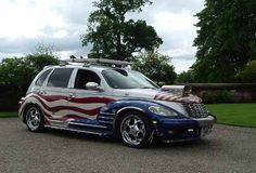 reet3 Chrysler Pt Cruiser, Hot Rods, Vehicles, Red, Cars, Motorcycles, Car, Vehicle, Tools