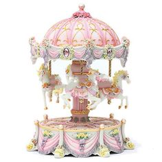 Carousel Music Box