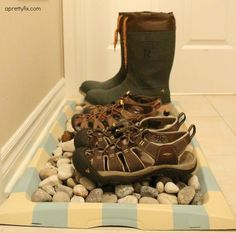 This boot tray makeo