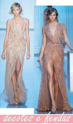 Eu sou suspeita para falar de vestidos longos com briho, decote em V e fenda!!!!😍😍😍😍