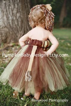 Lion Costume - Lion Tutu - Lion Mane - Wizard of Oz - Halloween Costume - Cowardly Lion - Infant Costume - Toddler Costume - Girl Costume