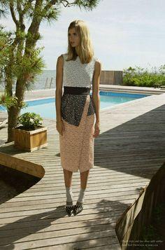 Julia Stegner by Marcelo Krasilcic for Purple Fashion