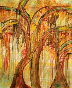 "Theodosia Tamborlane. ""Five Seasons"" Solo exhibition at the New Jersey Artists Gallery of Johnson & Johnson World Headquarters, April 17-June 5, 2015."