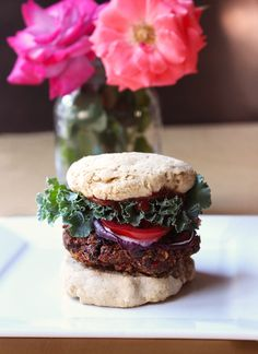 A super fresh and flavorful vegan burger, packed withspices and herbs and made from a base of veggies and seeds. Raw vegan burgers were one of thevery first recipes I ever tried making when I first discovered raw foods. The recipe was called beet burgers, and as you can probably imagine they were made from beets and super bright purple/red! ... Read More