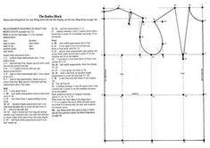 Metric pattern cutting womenswear winifred aldrich winifred pattern cutting basic bodice block winifred aldrich metric pattern cutting for women fandeluxe Images