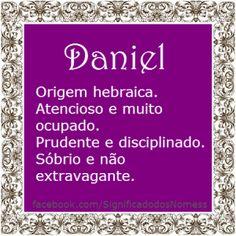 Significado do nome Daniel   Significado dos Nomes