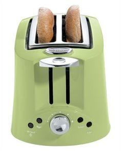 green kitchenaid toaster