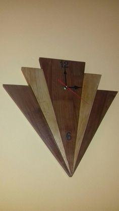 Tony art Orologio in faggio ciliegio Youtube Woodworking, Woodworking Clamps, Woodworking Books, Teds Woodworking, Woodworking Projects, Woodworking Forum, Large Wood Clock, Wood Clocks, Subwoofer Box Design