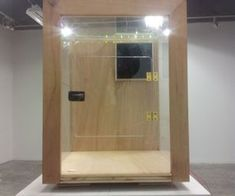 3D Printer Enclosure with Arduino LED Display