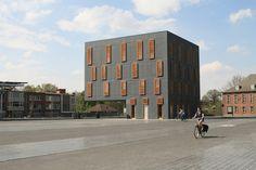 Bürohaus in Belgien / Ensemble in Mortsel - Architektur und Architekten - News / Meldungen / Nachrichten - BauNetz.de