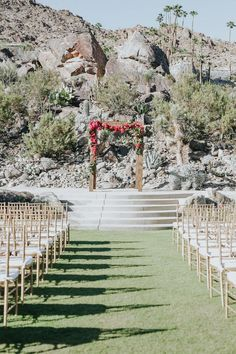 14 amazing palm springs wedding venues palm springs spring modern palm springs wedding at colony 29 signature party rentals ft in 100 junglespirit Gallery