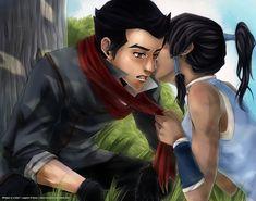 Makorra:+Whisper+or+a+Kiss?+by+niolynn.deviantart.com+on+@deviantART
