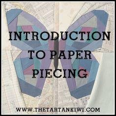How to Paper Piece ~ The Tartankiwi