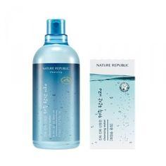 [NATURE REPUBLIC] Ultra Fresh Jeju Carbonic H2O Cleansing Water - 510ml