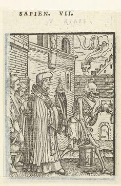 Priester en de Dood, Hans Holbein (II), Hans Lützelburger, 1524 - 1526