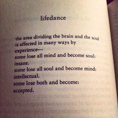 lifedance-- bukowski